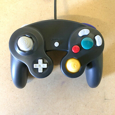 Nintendo GameCube Controller Remote for GC & Wii Black New - Ships With Tracking