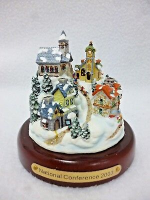 Partylite Mini Olde World Village In Original Box National Conference 2003