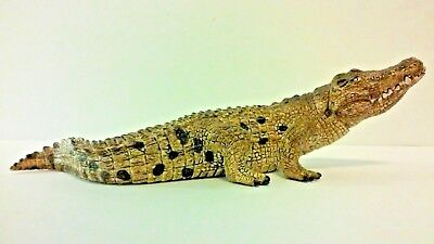 Schleich 2014 Crocodile with Movable Jaw EUC
