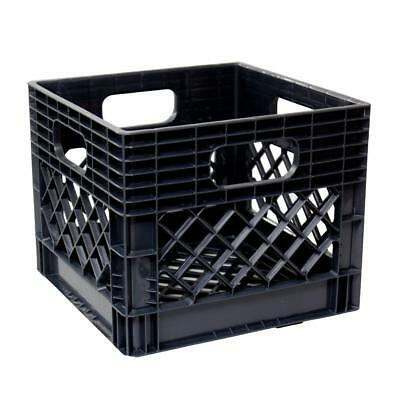 Industrial strength quality heavy duty plastic milk crate