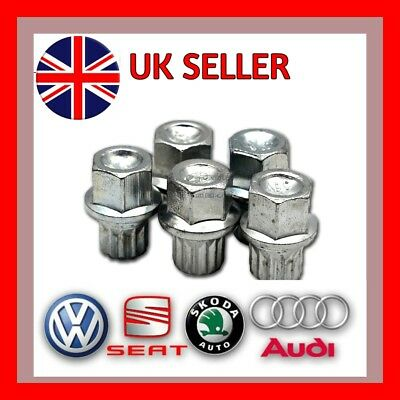 Audi VW Seat Skoda Locking Wheel Nut Key ABC 2/13 PT Splines - UK SELLER
