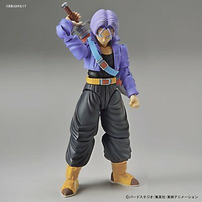 Super Saiyan Trunks Dragon Ball Z Bandai Figure-rise Model Kit Authenic