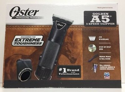 (New) OSTER Golden A5 Single Speed Clipper