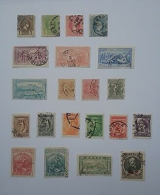 Greece 1880's to 1927 used stamps