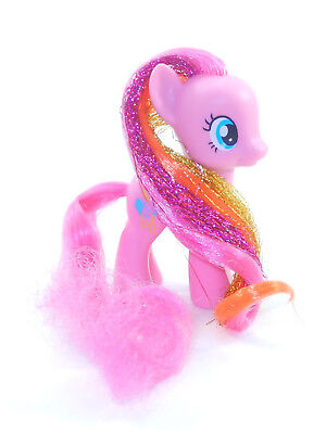 180 G4 My Little Pony ~*Brushable Pinkie Pie Gold Pink Tinsel STUNNING!*~