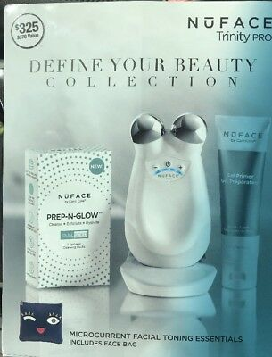 NuFace Trinity PRO Facial Toning Kit NEW IN SEALED BOX LATEST Authentic Device