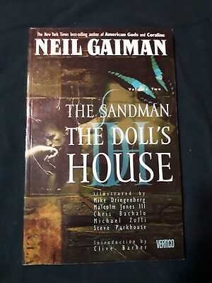 The Sandman: The Doll's House TPB Neil Gaiman DV Vertigo Very Good Condition