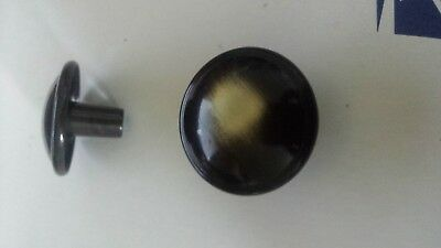 """12 Style Selections  antique brass finish cabinet knobs 1.22"""" #0090162 #Z1401-31"""