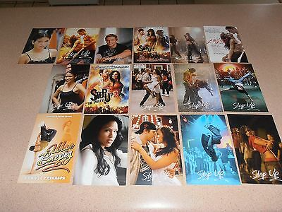 Step up movies postcards