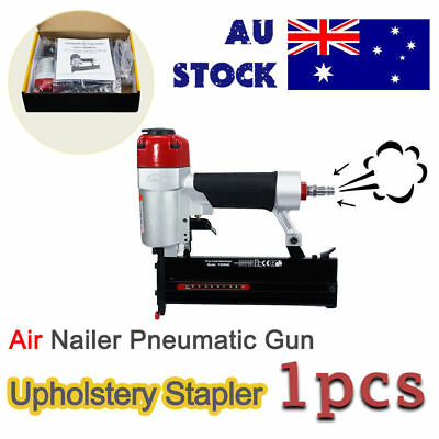 Air Stapler Air Nailer HEAVY DUTY STAPLE GUN TACKER UPHOLSTERY STAPLER/Pneumatic