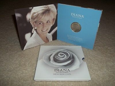 1999 Diana Princess Of Wales Memorial Five Pound £5 Coin British Royal Mint