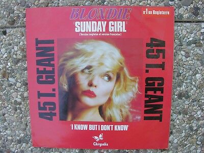Blondie Sunday Girl 12' 45 RPM from France