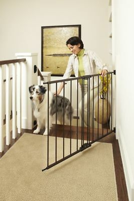 """Supergate Easy Swing & Lock Gate, Bronze, Fits Spaces between 28.68"""" to 47.85"""" W"""