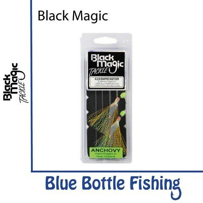 NEW Black Magic Snapper Snatcher Anchovy 5/0 from Blue Bottle Marine