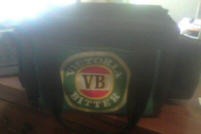 vb vic bitter 6pk cooler bag - 2 side pockets