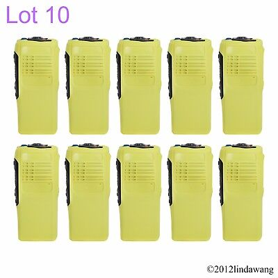 10X Yellow Housing Cover Case Repairment Repair Kit for Motorola GP340 Radio