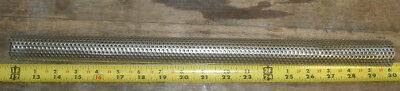 """Perforated Stainless Steel Welded tube Filter/Smoker 1-1/4"""" O.D x 17-7/8"""" long"""