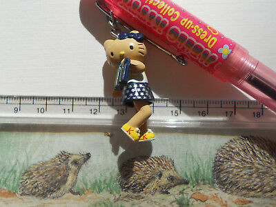 Hello Kitty Vintage Pen Pencil Set Charm 2002 Dress Up Collection 2 Way