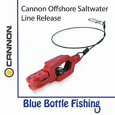 NEW Cannon Offshore Saltwater Line Release from Blue Bottle Marine