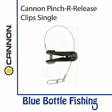 NEW Cannon Pinch-R-Release Clips Single from Blue Bottle Marine