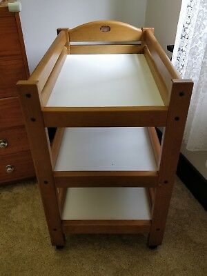 Natural Wood Boori Country Collection baby Change Table