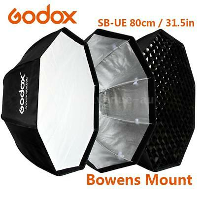 Godox SB-UE 80cm/31.5in Portable Octagon Honeycomb Grid Umbrella Softbox  Flash