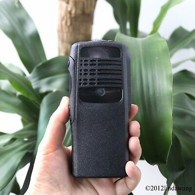 Black Housing Cover Front Case Refurbishment for Motorola GP340 Portable Radio