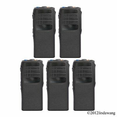 5X Black Housing Cover Case Replacement Refurbish for Motorola GP340 Radio