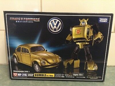 Transformers Masterpiece Bumble Bee G-2 ver MP-21G brand new