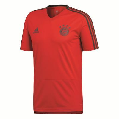 Adidas FC Bayern Munich Football Soccer Mens Training Jersey Shirt Short Sleeve