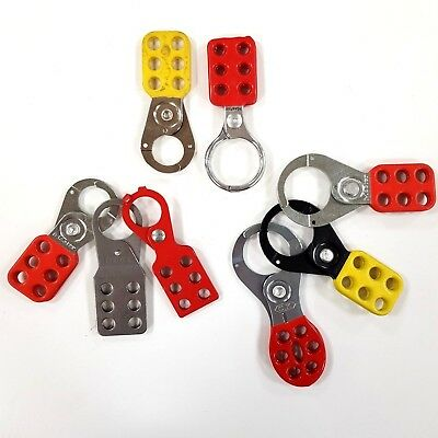 Lockout Scissor Hasps Hasp Lockout Tagout Equipment Safety Secure Used Cheap