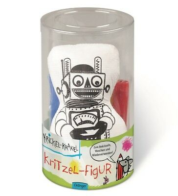 krickel-krakel Scribble Figurine Robot Children's malset Creative Paint