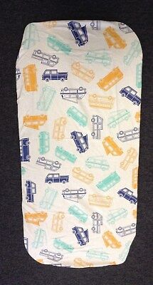 100% Printed Cotton Fitted Sheet for Moses Basket/Pram For Baby Nursery BNIP