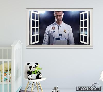 Cristiano Ronaldo FIFA 18  windows wall sticker