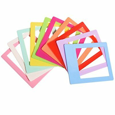 "Polaroid 10 Colorful 3x4"" Mini Photo Picture Frames For 2x3 Photo Paper (POP)"