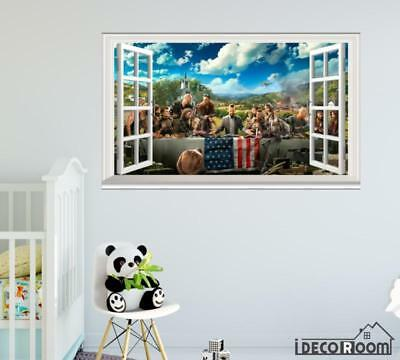 Far Cry 5 Key Art  windows wall sticker