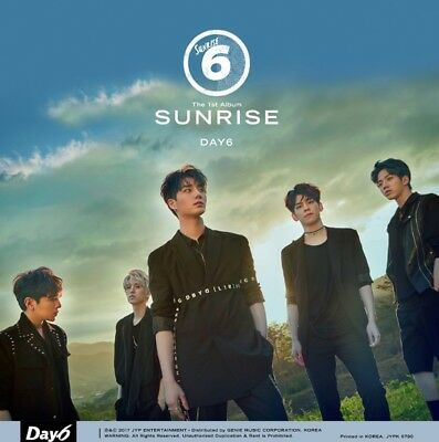 K-POP DAY6 1st Album [SUNRISE] CD+Photobook+Photocard+Lyrics+LD Card+Event Card