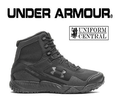 NEW Style Under Armour UA Women's Black VALSETZ RTS 1.5 Tactical Boots - 3021037