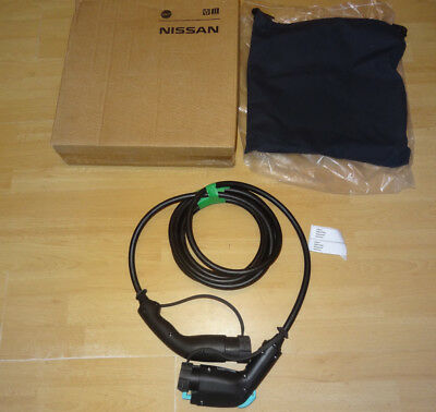Nissan Leaf Genuine Uk 7Pin Charging Cable 32Amp Brand New In Box Type 1