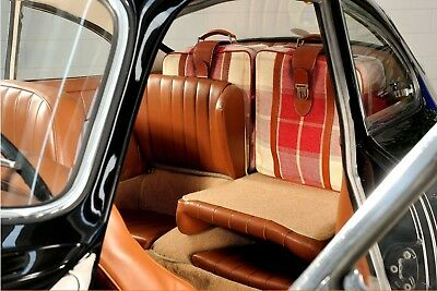 Porsche 356 SC luggage back seats