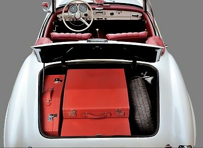 Mercedes 190 SL  leather Luggage set 3 pieces