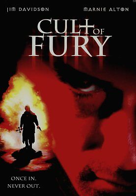 Cult Of Fury -DVD Movie- Brand New & Sealed- Fast Ship- OD-448