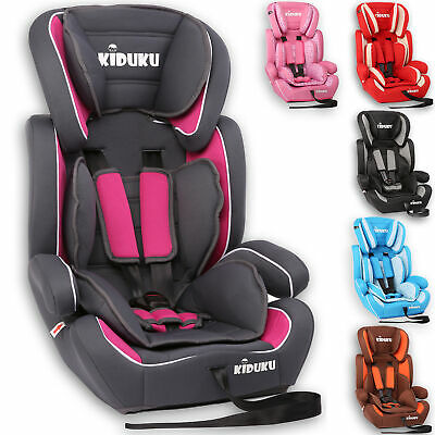KIDUKU® Baby Child Car Safety Seat Booster Seat Universal Group 1-2-3 9-36kg