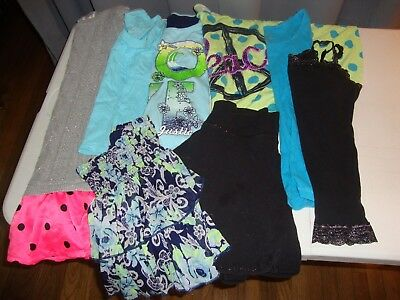 Lot Of Girls Justice Brand Clothes Size 12