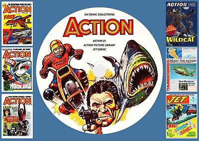 Action (COMPLETE) + Action 21 + Jet & More On DVD Rom