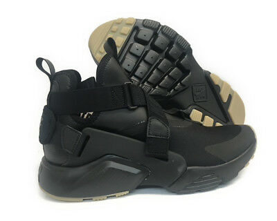 first rate 0731a 8c0bd  Ah6787-003  Nike Air Huarache City Black Dark Grey Women Sneaker Size 14