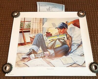 Lionel Print Angela  Trotta Thomas 1996 Planning Ahead 122/750 with COA