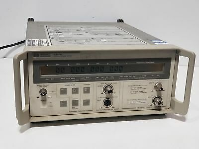 HP 5347A 10Hz - 20 GHz Microwave Frequency Counter & Power Meter Combination