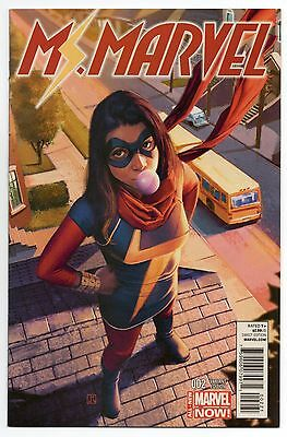 MS. MARVEL #2 | Vol. 3 | Jorge Molina 1:50 Variant | Kamala Khan | 2014 | NM
