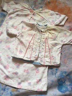 Lot Of Handmade 1950s Baby Or Doll Clothes